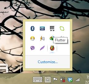 Flutter notification