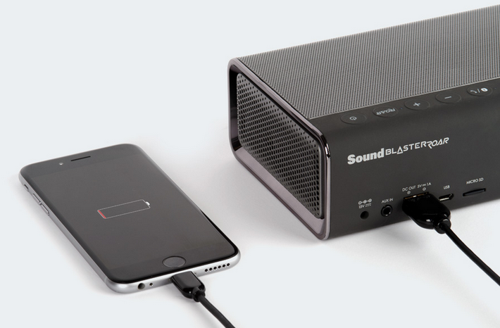 Creative SR20 ROAR portable bluetooth speaker review