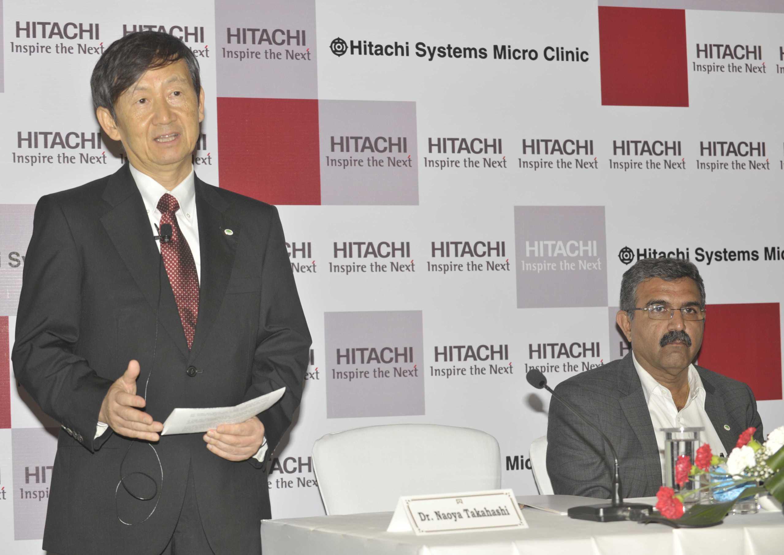 Dr. Naoya Takahashi, President & CEO, Hitachi Systems, Ltd.