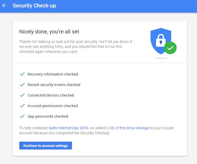 Get 2GB Free Google Drive Storage today