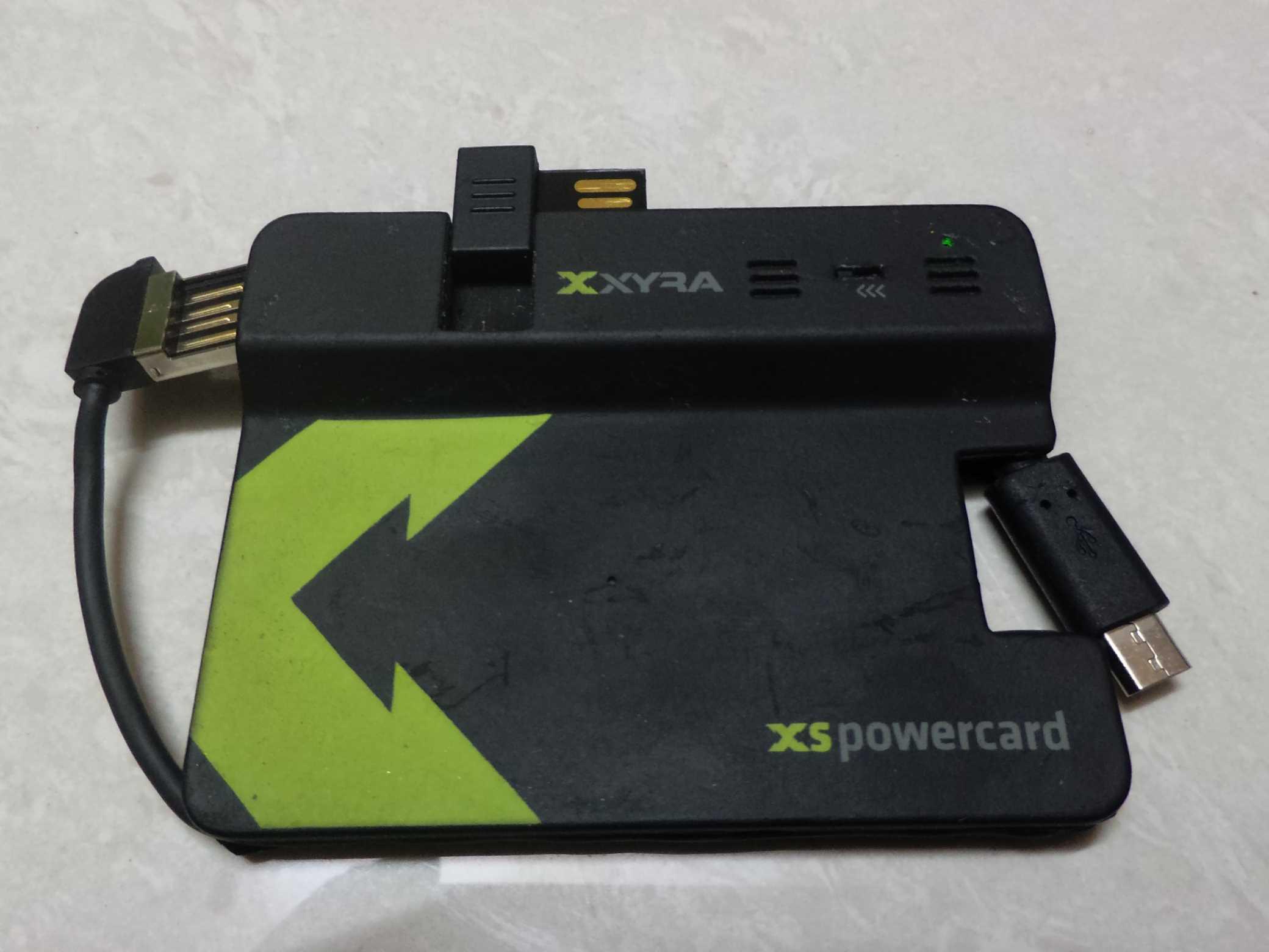 XYRA XS PowerCard review