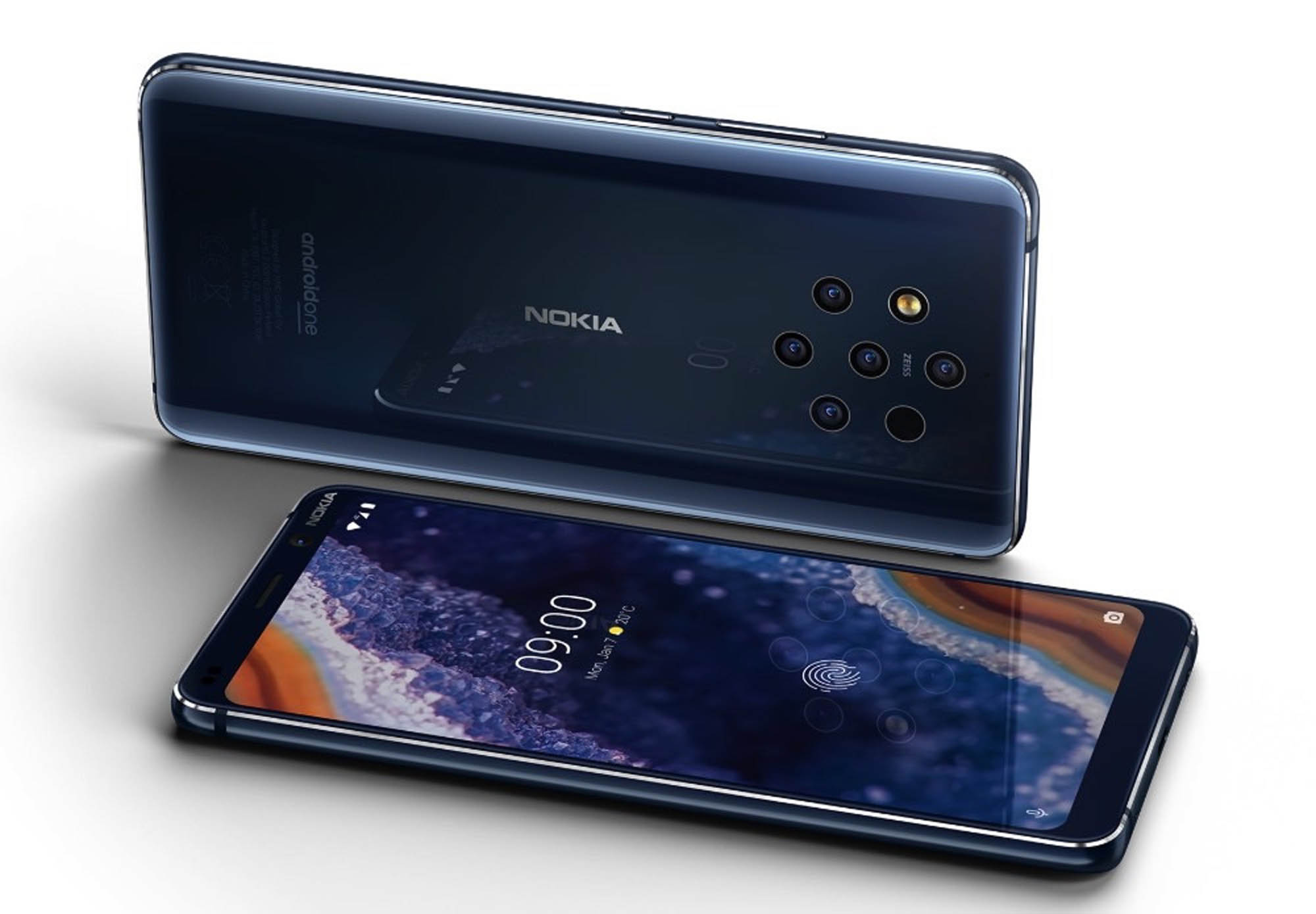 Secret behind 5 camera lenses in Nokia 9